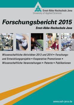 Forschungsbericht 2015 der Ernst-Abbe-Hochschule Jena