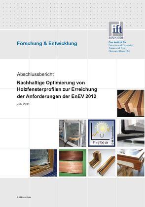 Forschungsbericht Holzfenster 2012 von ift Rosenheim GmbH