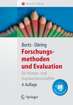 Forschungsmethoden und Evaluation für Human- und Sozialwissenschaftler von Bortz,  Jürgen, Döring,  Nicola