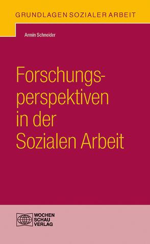 Forschungsperspektiven in der Sozialen Arbeit von Schneider,  Armin