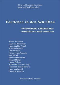 Fortleben in der Schriften von Großmann,  Dörte, Großmann,  Ruprecht, Kluth,  Ingrid, Kluth,  Wolfgang