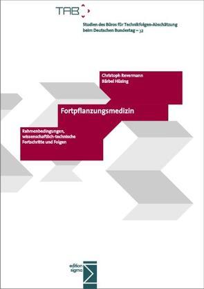 Fortpflanzungsmedizin von Hüsing,  Bärbel, Revermann,  Christoph