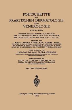 Fortschritte der Praktischen Dermatologie und Venerologie von Marchionini,  Alfred, Schirren,  Carl G.