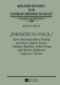 «Fortsetzung folgt…» von Beltz,  Bettina