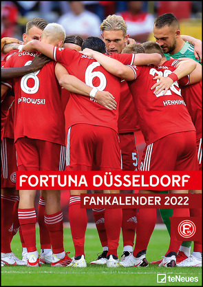 Fortuna Düsseldorf 2022 A3-Kalender – Fan-Kalender Fußball-Kalender – 29,7×42 – Sport