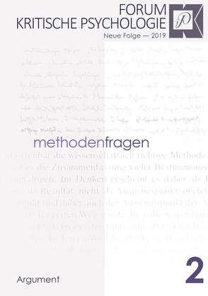 Forum Kritische Psychologie / Methodenfragen