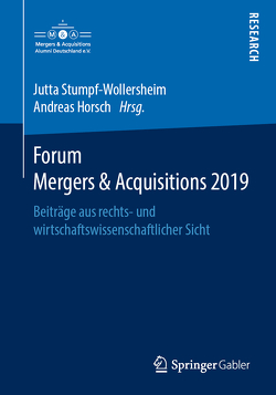 Forum Mergers & Acquisitions 2019 von Horsch,  Andreas, Stumpf-Wollersheim,  Jutta