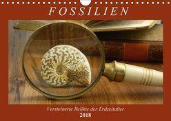 Fossilien – Versteinerte Relikte der Erdzeitalter (Wandkalender 2018 DIN A4 quer) von Frost,  Anja