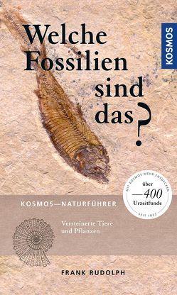 Welche Fossilien sind das? von Rudolph,  Frank