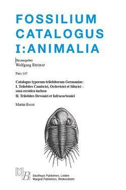 Fossilium Catalogus I: Animalia; Pars 147 von Basse,  Martin, Riegraf,  Wolfgang