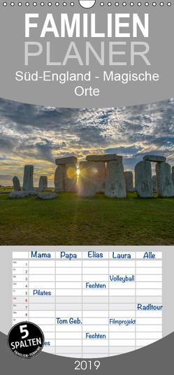 Foto-Momente Süd-England – Magische Orte – Familienplaner hoch (Wandkalender 2019 , 21 cm x 45 cm, hoch) von Steen,  Roger