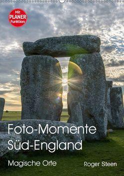 Foto-Momente Süd-England – Magische Orte (Wandkalender 2019 DIN A2 hoch) von Steen,  Roger