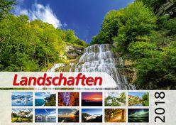 Foto-Wandkalender – Landschaften 2018 DIN A2 quer