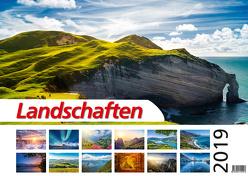 Foto-Wandkalender – Landschaften 2019 DIN A2 quer