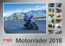 Foto-Wandkalender Motorräder 2018 – DIN A3 quer