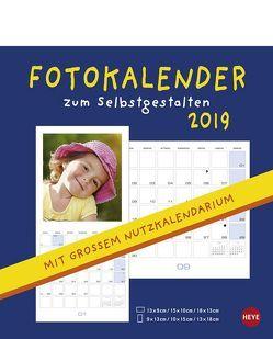 Fotobroschurkalender zum Selbstgestalten – Kalender 2019 von Heye