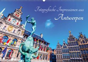 Fotografische Impressionen aus Antwerpen (Wandkalender 2021 DIN A2 quer) von Müller,  Christian