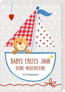 Fotokarten-Box – BabyGlück – Babys erstes Jahr – Deine Meilensteine von Mußenbrock,  Anne