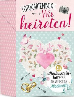 Fotokartenbox Wir heiraten!