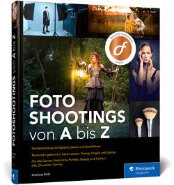 Fotoshootings von A bis Z von Bübl,  Andreas