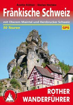 Fränkische Schweiz (E-Book) von Herbke,  Stefan, Köhler,  Anette