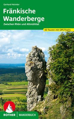 Fränkische Wanderberge von Heimler,  Gerhard
