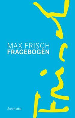 Fragebogen von Frisch,  Max
