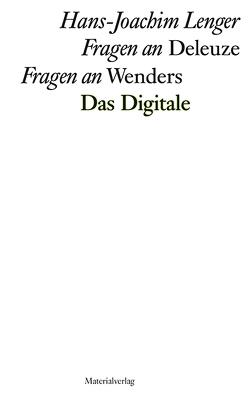Fragen an Deleuze | Fragen an Wenders von Lenger,  Hans-Joachim