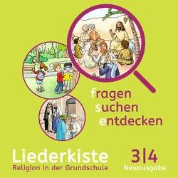 Fragen-suchen-entdecken – Neuausgabe / Band 3/4 – Liederkiste