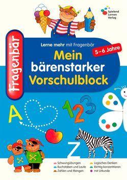 Fragenbär – Mein bärenstarker Vorschulblock von Lohmann,  Vera