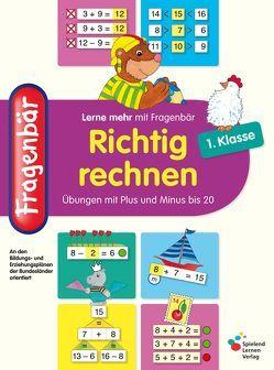 Fragenbär – Richtig rechnen 1. Klasse von Lohmann,  Vera