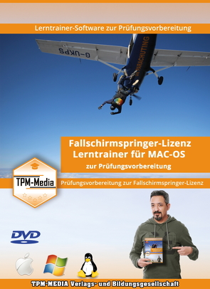 Fragenkatalogtrainer für Fallschirmspringer – Lizenz für MAC-OS von Mueller,  Thomas