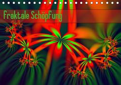fraktale Schöpfung (Tischkalender 2021 DIN A5 quer) von Schönberger,  Susanne