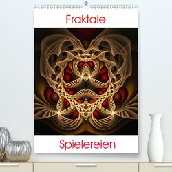 Fraktale Spielereien (Premium, hochwertiger DIN A2 Wandkalender 2021, Kunstdruck in Hochglanz) von Colordreams63