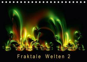 Fraktale Welten 2 (Tischkalender 2018 DIN A5 quer) von Barig,  Joachim