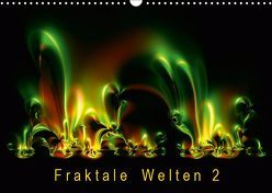 Fraktale Welten 2 (Wandkalender 2019 DIN A3 quer) von Barig,  Joachim