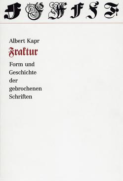 Fraktur von Forssmann,  Friedrich, Kapr,  Albert, Willberg,  Hans P