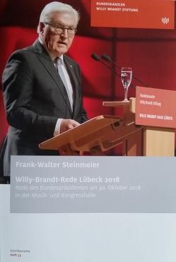Frank-Walter Steinmeier: Willy-Brandt-Rede Lübeck 2018