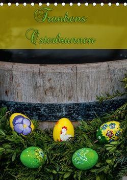 Frankens Osterbrunnen (Tischkalender 2018 DIN A5 hoch) von Kulla,  Alexander