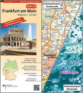 Frankfurt am Main von BKG - Bundesamt für Kartographie und Geodäsie