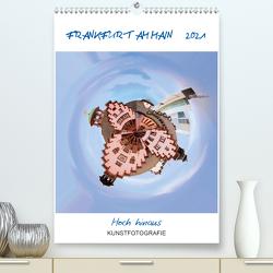 FRANKFURT AM MAIN – Hoch hinaus (Premium, hochwertiger DIN A2 Wandkalender 2021, Kunstdruck in Hochglanz) von Ruffinengo,  Rolando