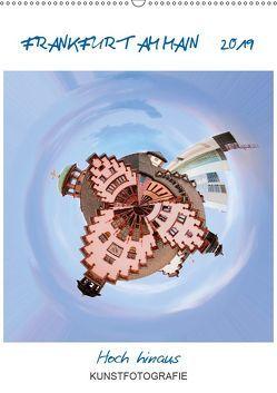 FRANKFURT AM MAIN – Hoch hinaus (Wandkalender 2019 DIN A2 hoch) von Ruffinengo,  Rolando