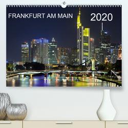 Frankfurt am Main (Premium, hochwertiger DIN A2 Wandkalender 2020, Kunstdruck in Hochglanz) von Röhrich,  Alfred