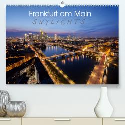 Frankfurt am Main Skylights (Premium, hochwertiger DIN A2 Wandkalender 2020, Kunstdruck in Hochglanz) von Pavlowsky Photography,  Markus
