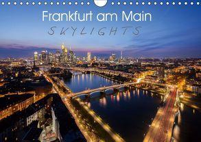 Frankfurt am Main Skylights (Wandkalender 2019 DIN A4 quer)