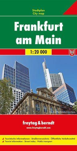 Frankfurt am Main, Stadtplan 1:20.000