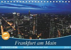 Frankfurt am Main (Tischkalender 2019 DIN A5 quer) von Höfer,  Christoph