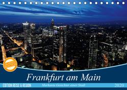 Frankfurt am Main (Tischkalender 2020 DIN A5 quer) von Höfer,  Christoph