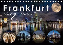Frankfurt city view (Tischkalender 2019 DIN A5 quer) von Schöb,  Monika