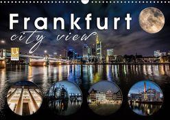 Frankfurt city view (Wandkalender 2019 DIN A3 quer) von Schöb,  Monika